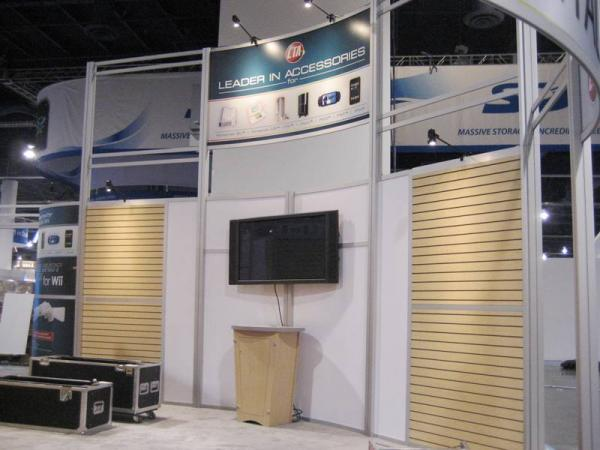 RE-9046 Rental Exhibit / 30� x 40� Island Trade Show Display � Image 5