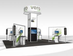 RE-9040 Trade Show Rental Exhibit -- Image 1