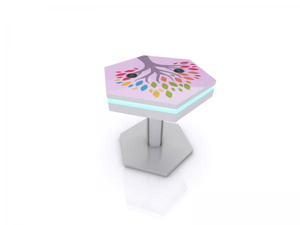 MOD-1466 Trade Show and Event Wireless End Table Charging Station -- Image 1