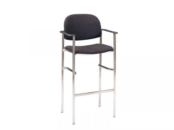 Black Barstool -- Trade Show Furniture Rental