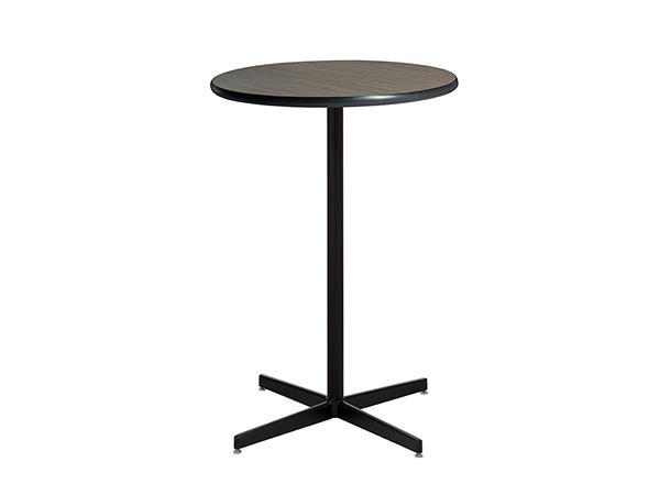 "30"" Round Madison Bar Table w/ Standard Black Star Base