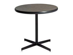 "30"" Round Madison Café Table w/ Standard Black Base -- Trade Show Furniture Rental"