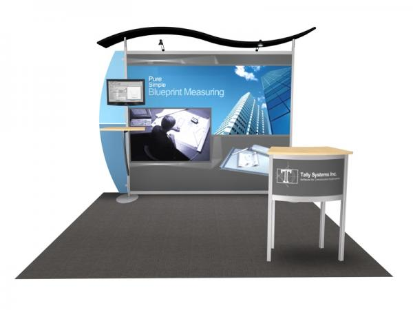 VK-1216 Exhibit with MOD-1243 Pedestal
