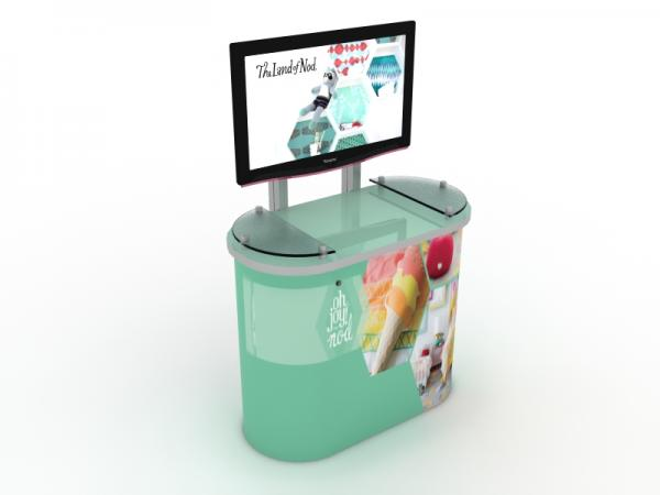 MOD-1246 Workstation/Kiosk for Trade Shows and Events -- Image 3