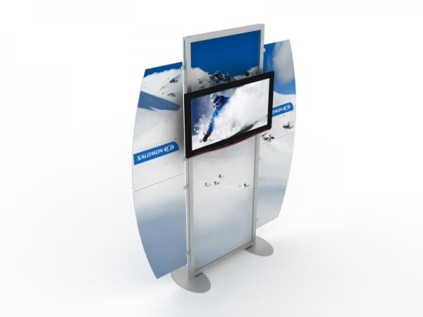 MOD-1518 Monitor Stand for Trade Shows and Events -- Image 3