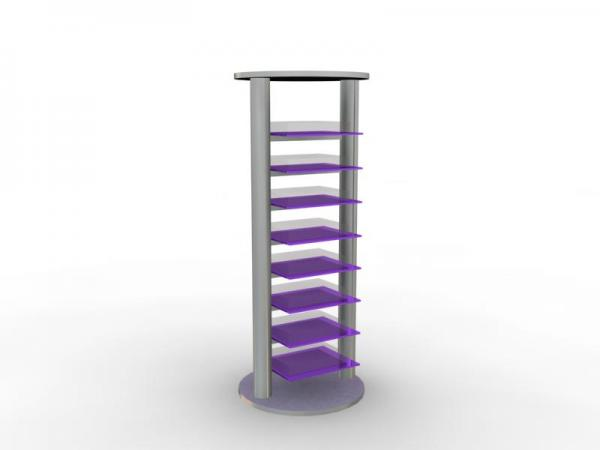 MOD-1136 Trade Show Shelving Tower
