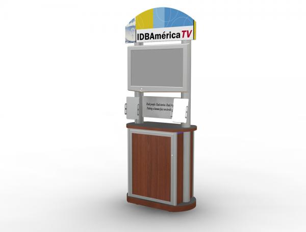 MOD-1149 Trade Show Workstation or Kiosk
