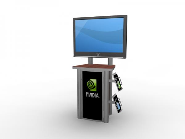 MOD-1245 Workstation/Kiosk for Trade Shows and Events -- Image 3
