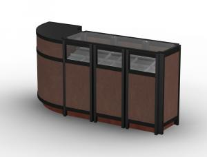 MOD-1155 Tradeshow Display Counter