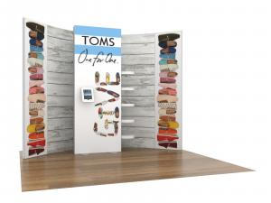 ECO-1118 Sustainable Trade Show Inline Display -- Image 1
