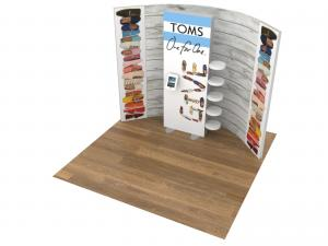 ECO-1118 Sustainable Trade Show Inline Display -- Image 2