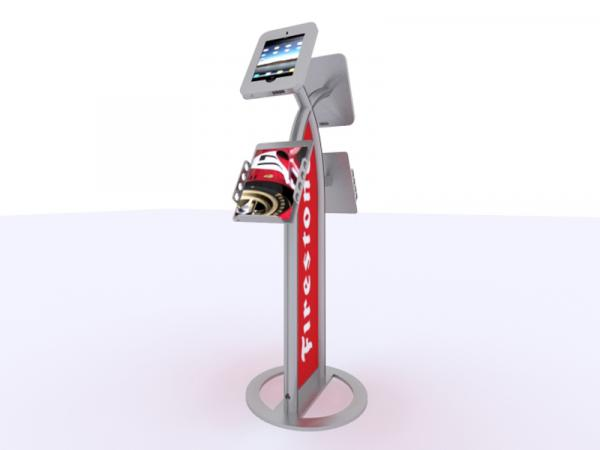See the MOD-1355 for the Portable iPad Kiosk Version
