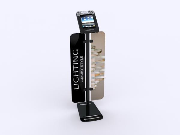 MOD-1335 iPad Kiosk with Graphics