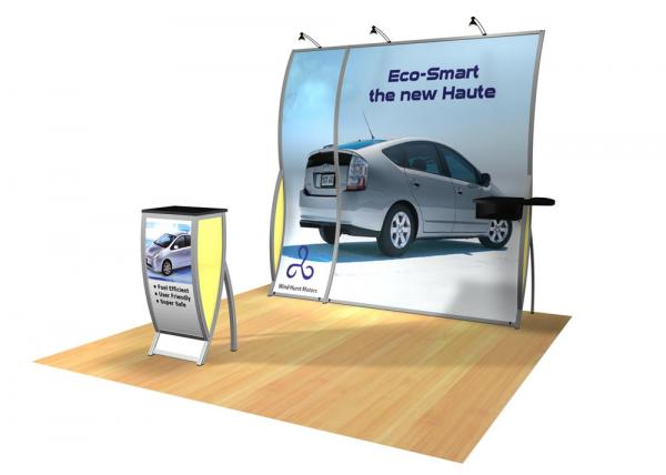 Perfect 10 VK-1502 Portable Hybrid Trade Show Display -- Image 2