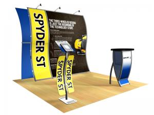 Perfect 10 Portable Hybrid Trade Show Display -- Image 1