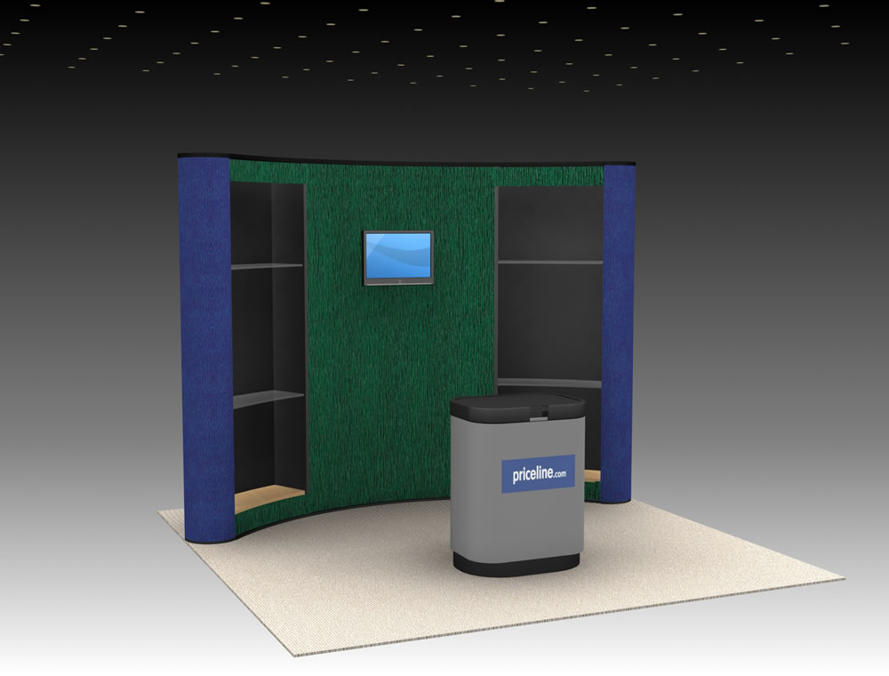 QD-117 Trade Show Pop-up Display