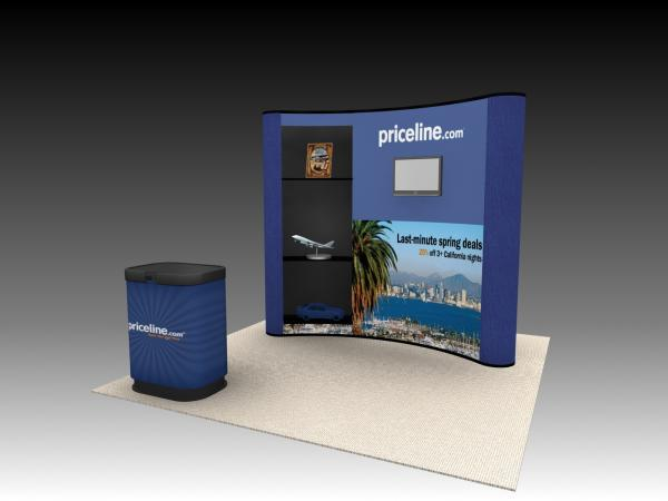 QD-108 Trade Show Pop Up Display -- Image 1