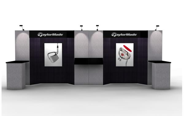 RE-2007 Rental Exhibit / 10� x 20� Inline Trade Show Display � Image 1