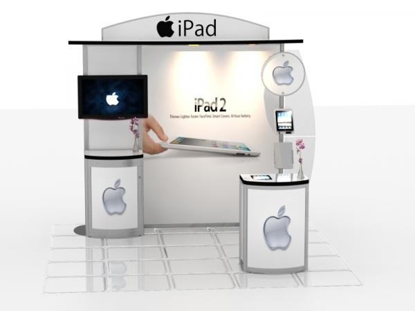 RE-1017 / iPad Trade Show Exhibit -- Image 1