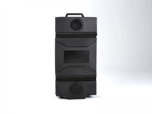 "Optional -- MOD-550 Portable Roto-molded Cases with Wheels (26"" W x 11"" D x 54"" H)"