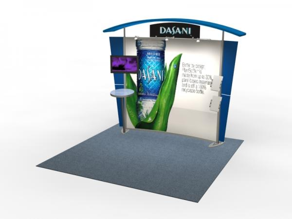 VK-1302 Trade Show Exhibit with Silicone Edge Graphics (SEG) -- Image 1
