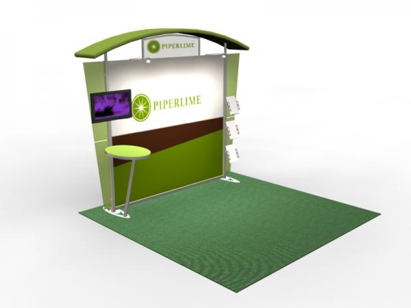 VK-1305 Trade Show Exhibit with Silicone Edge Graphics (SEG) -- Image 2