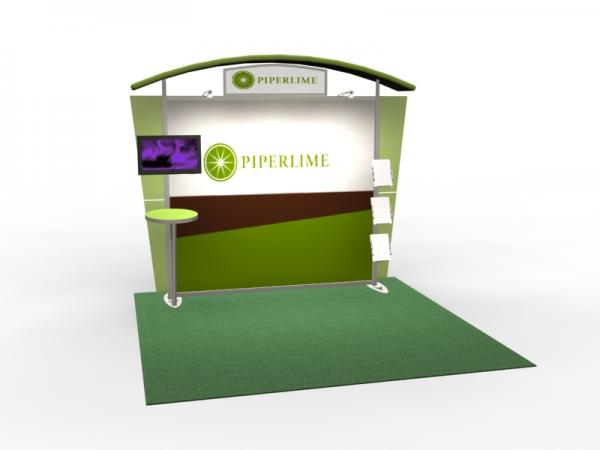 VK-1305 Trade Show Exhibit with Silicone Edge Graphics (SEG) -- Image 1