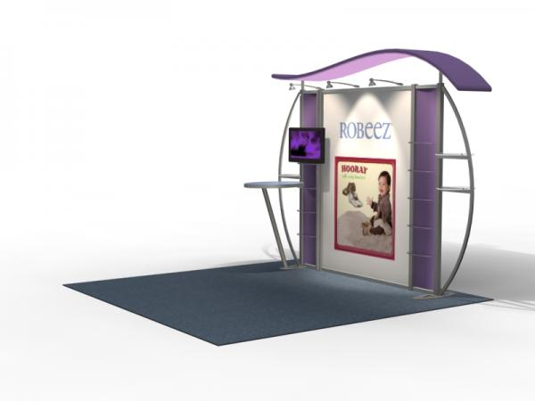 VK-1311 Trade Show Exhibit with Silicone Edge Graphics (SEG) -- Image 3