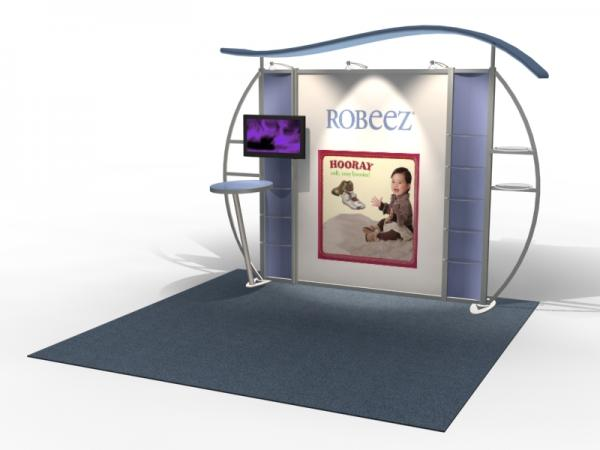 VK-1311 Trade Show Exhibit with Silicone Edge Graphics (SEG) -- Image 1