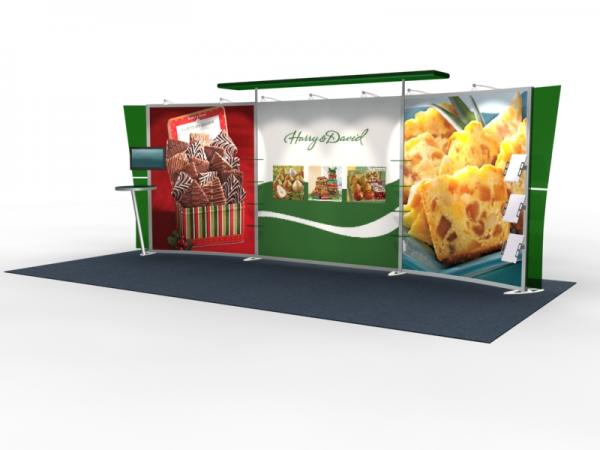 VK-2305 Trade Show Exhibit with Silicon Edge Graphics (SEG) -- Image 2