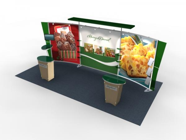 VK-2306 Trade Show Exhibit with Silicon Edge Graphics (SEG) -- Image 2