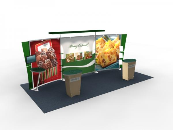 VK-2306 Trade Show Exhibit with Silicon Edge Graphics (SEG) -- Image 4