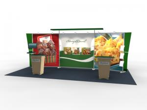 VK-2306 Trade Show Exhibit with Silicon Edge Graphics (SEG) -- Image 1